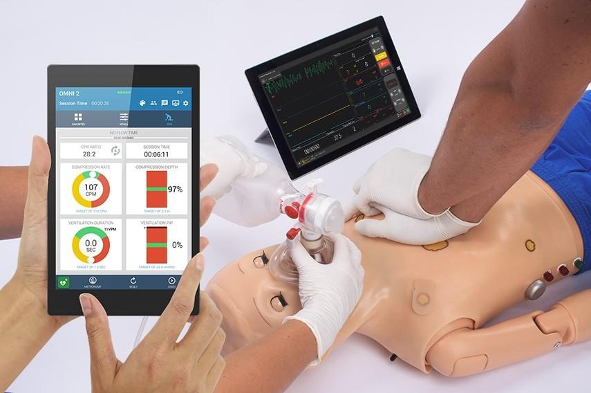 Interface do OMNI 2 com simulação de RCP